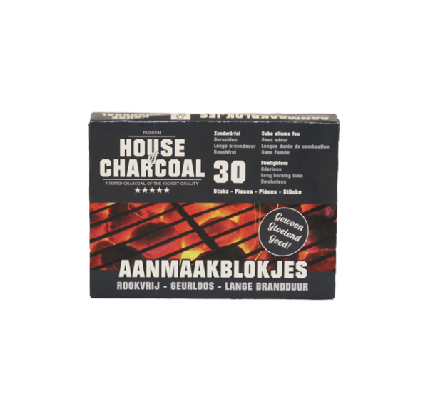 House of Charcoal aanmaakblokjes