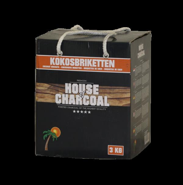 House of Charcoal Kokosbriketten 3 kg